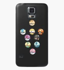 Eeveelution Pokeballs Case/Skin for Samsung Galaxy