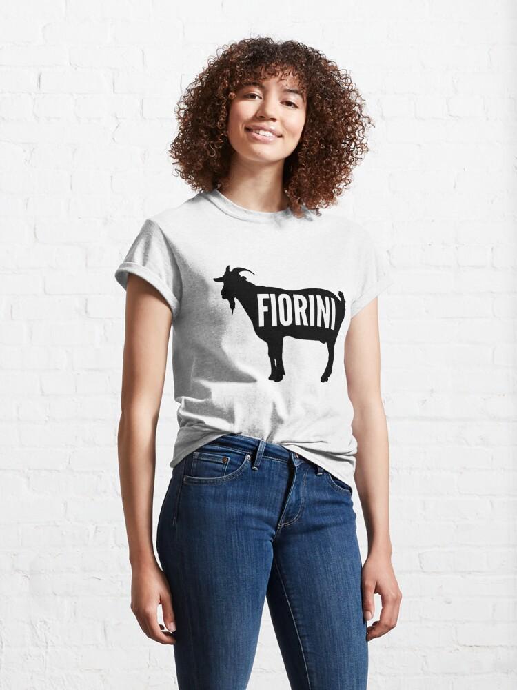 Alternate view of The GOAT - Fiorini Classic T-Shirt