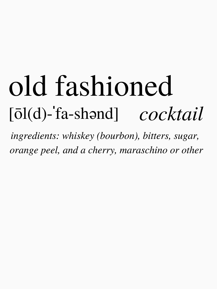 Cocktail Collection - Old Fashioned by ALushLifeManual