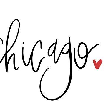Caligrafía de chicago de shelbiefran