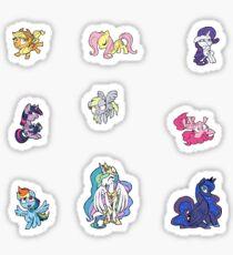 Chibi Pony Sticker Pack Sticker