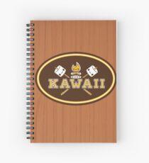 Kamp Kawaii Spiral Notebook