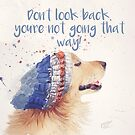 Don't Look Back by Sarah  Mac Illustration