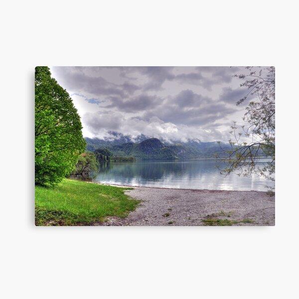 Lake Kochelsee May 2010 HDR II Metal Print