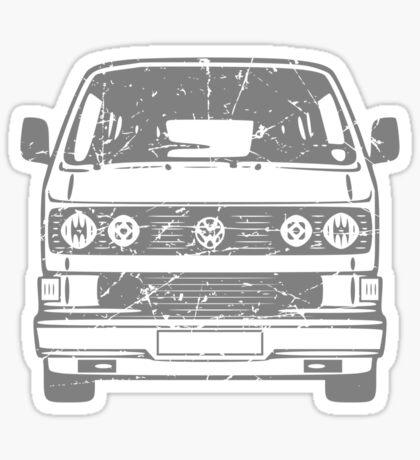 80s VW Van Sticker