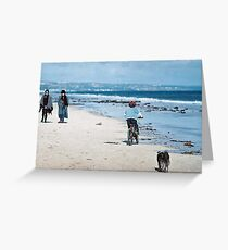 """""""Winter At The Beach"""" Greeting Card"""