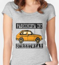 FASHIONISTA AUTOMOBILE Women's Fitted Scoop T-Shirt