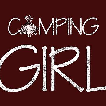 Camping Girl by daviduy