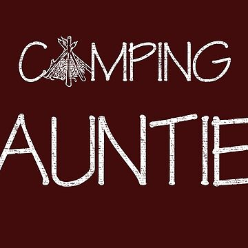 Camping Auntie by daviduy