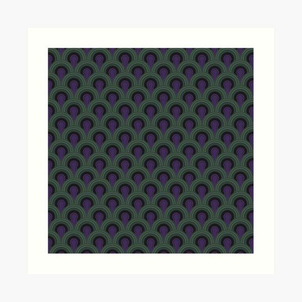Room 237 Carpet (The Shining)  Art Print