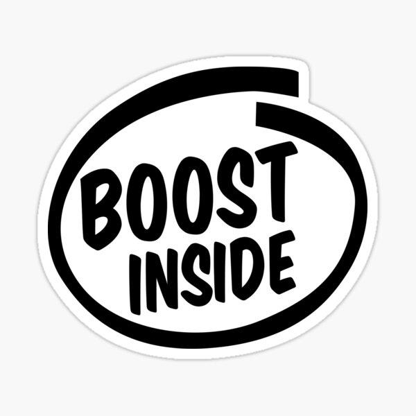 boost inside Sticker