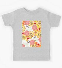 Flowers Of Summer Kids Tee