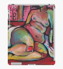 Sitting Nude with Storm iPad Case/Skin