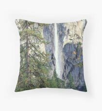 """620 Feet Drop"" Throw Pillow"