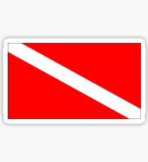 Pegatina Bandera de buceo