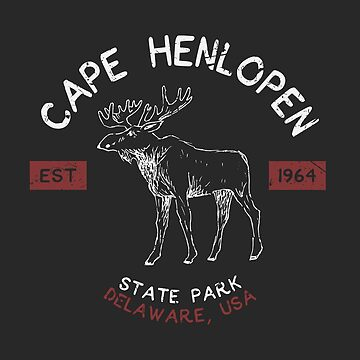 Cape Henlopen State Park Delaware Distressed by fuller-factory