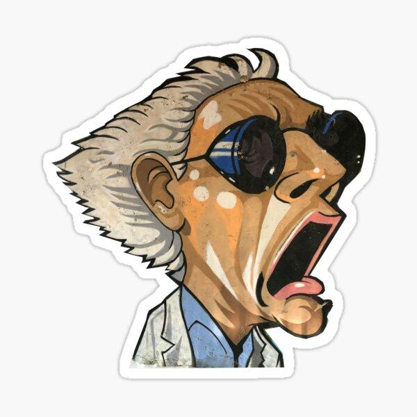 100 Uds pegatinas de regreso al futuro pegatinas de dibujos animados de pel/ícula de Pvc impermeables para tel/éfono equipaje monopat/ín port/átil pegatina de Anime