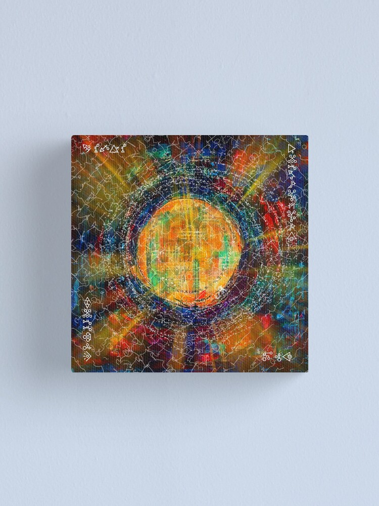 Alternate view of Secret Invocations Canvas Print