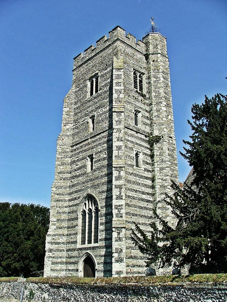 Newington Church Tower by Dave Godden