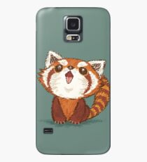 Red panda happy Case/Skin for Samsung Galaxy