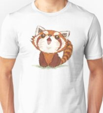 Red panda happy Unisex T-Shirt