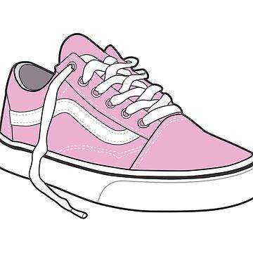 Patinador retro vintage Mar popular niebla rosa zapato de tlaprise