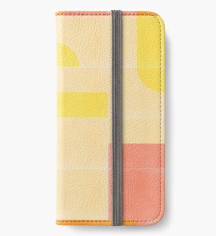 Retro Tiles 01 #redbubble #pattern iPhone Wallet
