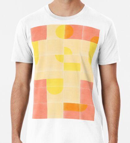 Retro Tiles 01 #redbubble #pattern Premium T-Shirt