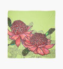 Australian Flower Series - Waratah Colour Scarf