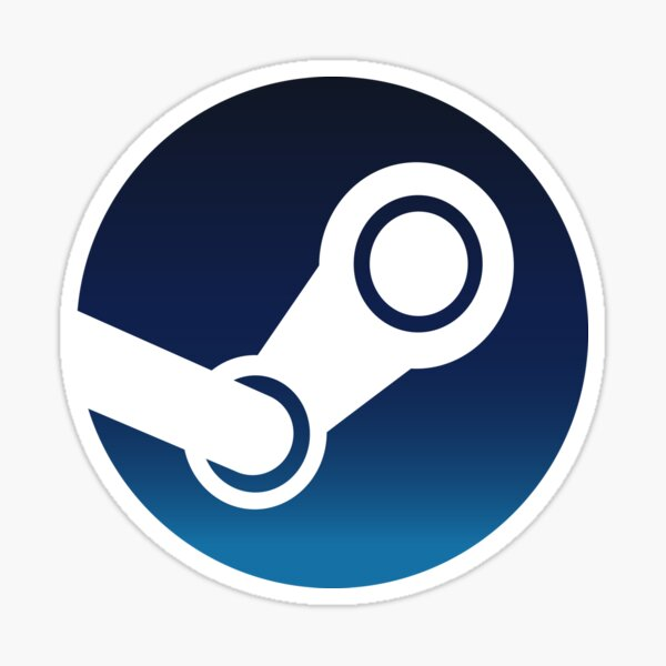 Steam icon Sticker