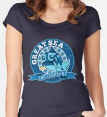Great Sea Cartography Women's Fitted Scoop T-Shirt