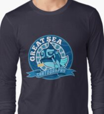Great Sea Cartography Long Sleeve T-Shirt