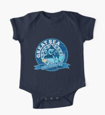 Great Sea Cartography One Piece - Short Sleeve