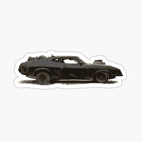 The Interceptor Sticker