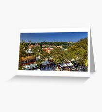Rhodes Street Market Greeting Card