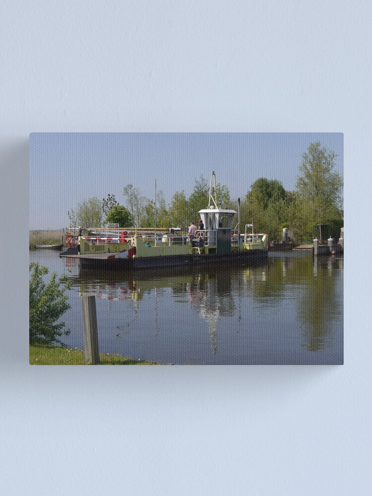 Alternate view of The ferry (1) Canvas Print