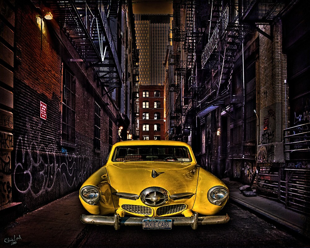 Back Alley Taxicab by Chris Lord