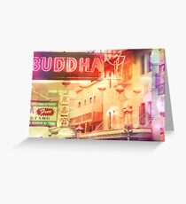 chinatown Greeting Card