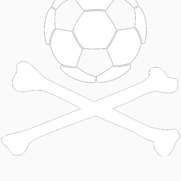 Soccer & Crossbones by edwardengland