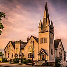 Church in Windsor, Nova Scotia by Scott Ruhs