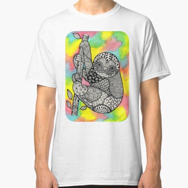 Sloth Art  Classic T-Shirt