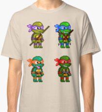 Teenage Mutant Ninja Turtles Pixels Classic T-Shirt