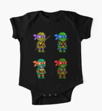 Teenage Mutant Ninja Turtles Pixels One Piece - Short Sleeve