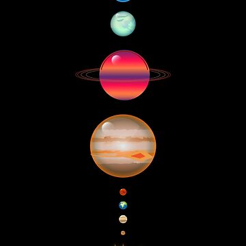 Solar System | Galaxy  Space Art by CarlosV