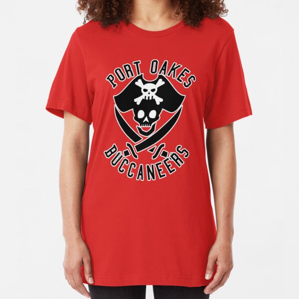 City Of Villains Teams - Port Oakes Slim Fit T-Shirt
