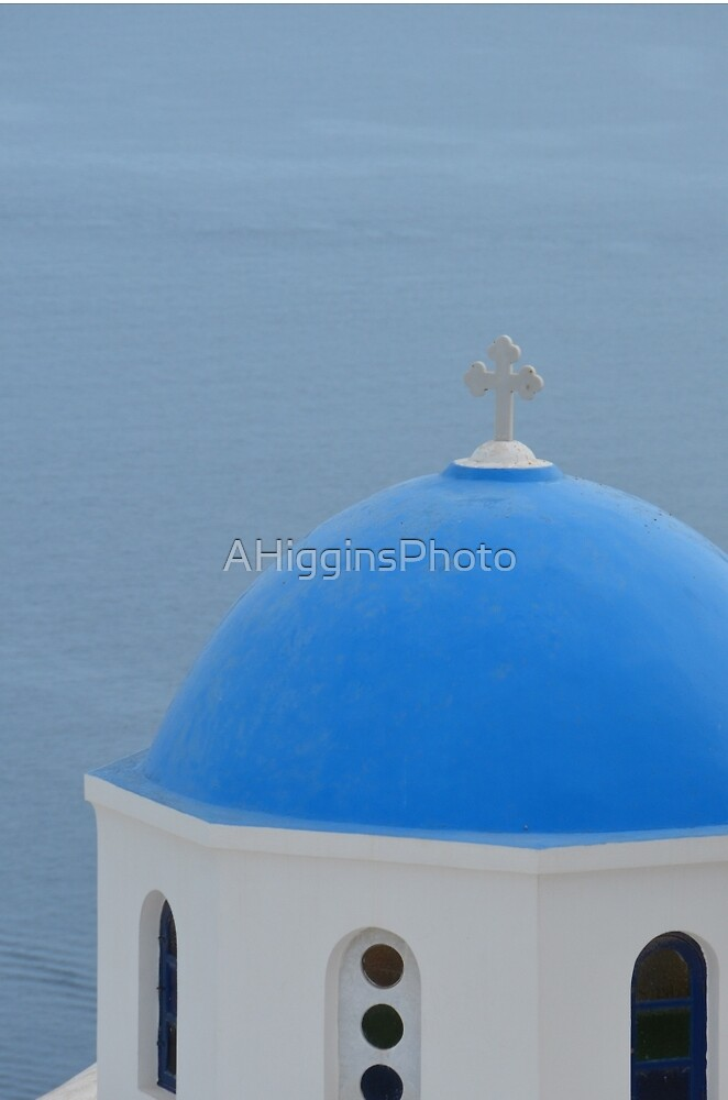 Santorini dome by LoveAphoto