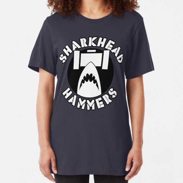 City Of Villains Teams - Sharkhead Slim Fit T-Shirt