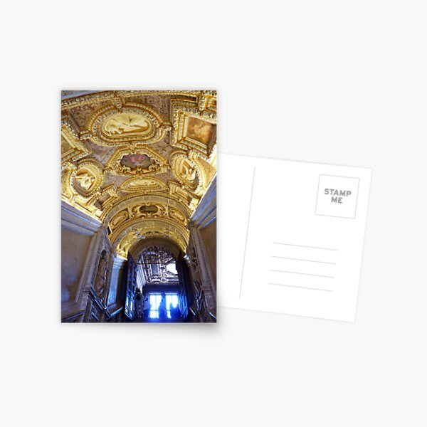 The Golden Staircase, Doges Palace, Venice Postcard