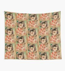 Jenna and Mei Wall Tapestry