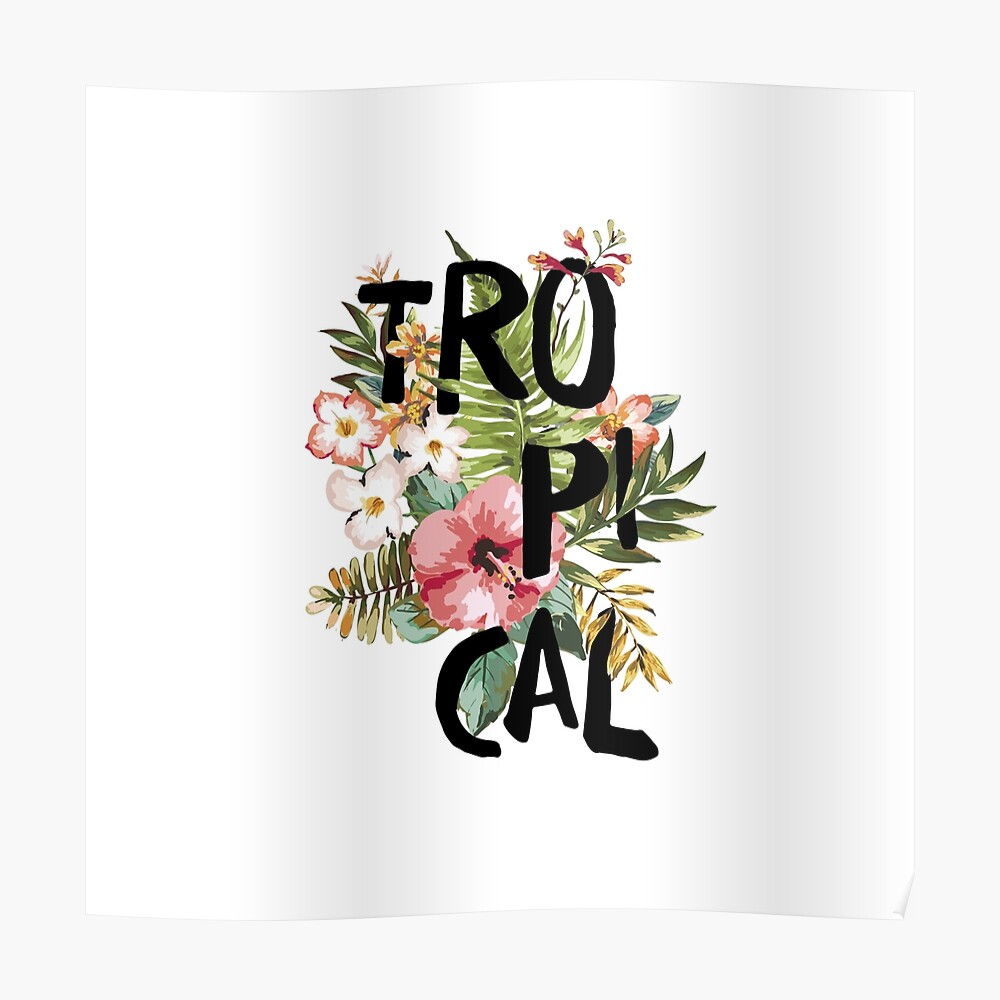 Tropical I Poster